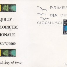 Sellos: XV COLLOQUIUM SPECTROSCOPICUM INTERNATIONALE 1969 (EDIFIL 1924) EN RARO SOBRE PRIMER DIA ALFIL. MPM.. Lote 180901721