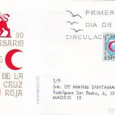 Sellos: CRUZ ROJA L ANIVERSARIO LIGA DE SOCIEDADES 1969 (EDIFIL 1925) EN SPD CIRCULADO MUNDO FILATELICO. MPM. Lote 180901975