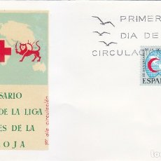 Sellos: CRUZ ROJA L ANIVERSARIO LIGA DE SOCIEDADES 1969 (EDIFIL 1925) EN SPD DEL SERVICIO FILATELICO. MPM.. Lote 180902153