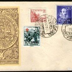 Sellos: SOBRE PRIMER DIA VII CENT. UNIVERSIDAD DE SALAMANCA 1953 (1). Lote 182986910