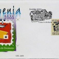 Sellos: ESPAÑA 2003- EDI 3961 (JUVENIA) (SOBRE PD DEL SFC). Lote 183331888