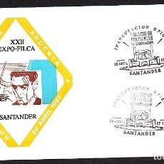Sellos: SOBRE CONM.XXII EXPO-FILCA. HOMENAJE ATAULFO ARGENTA - SANTANDER 1.991. Lote 183494880