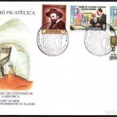 Sellos: SOBRE CONM. II EXP. FILATELICA EN ALAIOR 1.994. Lote 183706392