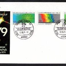 Sellos: SOBRE CONM. INTERNATIONALE FACHMESSE KUNSTSTOFF + KAUTSCHUK 1979. Lote 183708101