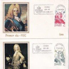 Sellos: REYES DE ESPAÑA CASA DE BORBON 1978 (EDIFIL 2496/2505) DIEZ SOBRES PRIMER DIA DIFERENTES. RAROS. MPM. Lote 183862737