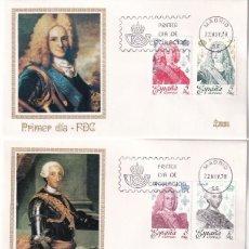 Sellos: REYES DE ESPAÑA CASA DE BORBON 1978 (EDIFIL 2496/2505) EN CINCO SPD MUNDO FILATELICO. RAROS ASI. MPM. Lote 183862853
