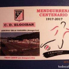 Sellos: T.P. PREFRANQUEADA - FÚTBOL - CENTENARIO C.D. ELGOIBAR - DIVISIÓN DE HONOR REGIONAL, GUIPÚZCOA.. Lote 184038130