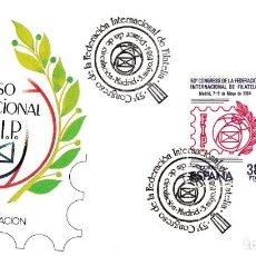 Sellos: FEDERACION INTERNACIONAL DE FILATELIA 53 CONGRESO 1984 (EDIFIL 2755) EN SPD SERVICIO FILATELICO. MPM. Lote 184297005