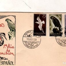 Sellos: SOBRE PRIMER DIA. SAHARA ESPAÑOL. 1959. VER FOTO.. Lote 184518275