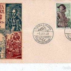 Sellos: SOBRE PRIMER DIA. SAHARA ESPAÑOL. PRO- INFANCIA. 1959. VER FOTO.. Lote 184518348