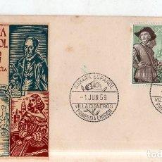 Sellos: SOBRE PRIMER DIA. SAHARA ESPAÑOL. PRO- INFANCIA. 1959. VER FOTO.. Lote 184518431