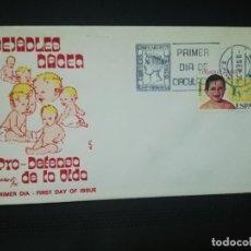 Sellos: SOBRE PRIMER DIA. DESEALES NACER. PRO- DEFENSA DE LA VIDA. 1975 . VER FOTO.. Lote 184649992