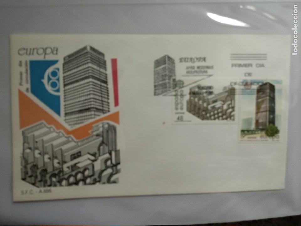 Sellos: SPD EUROPA 1987 ARTES MODERNAS. ARQUITECTURA 3 SOBRES - Foto 2 - 1565603