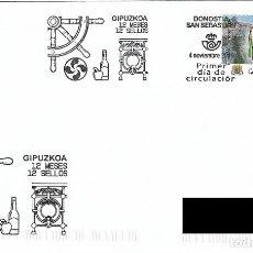 Sellos: ESPAÑA. SOBRE PRIMER DIA. GUIPUZCOA. 2019. Lote 186298528