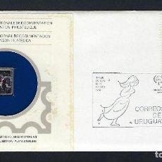 Sellos: URUGUAY. Lote 187393337
