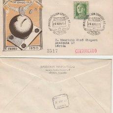 Sellos: AÑO 1951, INAUGURACIÓN EDIFICIO DE LA CAJA POSTAL DE AHORROS DE MADRID, PANFILATELICAS CIRCULADO. Lote 188571541