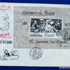 Sellos: SOBRE DEL PRIMER DÍA. CENTENARIO DE PABLO PICASSO. 25 DE OCTUBRE DE 1981. Lote 190460571