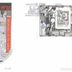 Sellos: EDIFIL 4280, VIDRIERAS: ESCUELA SUPERIOR DE ARQUITECTURA, PRIMER DIA DE 3-11-2006 SFC. Lote 191183836