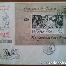 Sellos: CENTENARIO DE PICASSO 1973. Lote 191248288