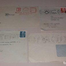 Sellos: FRANQUEO MÉCANICO Y MATASELLOS DE RODILLO. SOBRES DE CINE (WESTREX, FESTIVAL SAN SEBASTIÁN, BILBAO). Lote 191400250