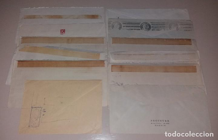 Sellos: Matasellos de rodillo. Lote 12 sobres diferentes (Volta, San Fermín, Hogueras, Caja Postal) - Foto 6 - 191409492