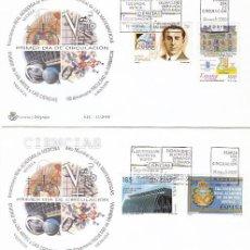 Sellos: EDIFIL 3708/11, CIUDAD DE LAS ARTES Y LAS CIENCIAS DE VALENCIA, ACADEMIA DE MEDICINA 9-6-2000. Lote 192356997