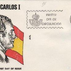 Timbres: 1984 - Nº 2761 REY DON JUAN CARLOS I . ANFIL . SOBRE PRIMER DIA /SPD. Lote 192574035