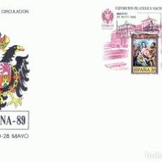 Sellos: SOBRE PRIMER DÍA DE CIRCULACIÓN EXFILNA - 89 TOLEDO . Lote 193431223