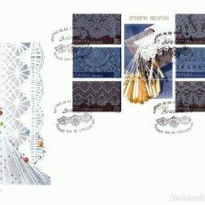 Sellos: SOBRE PRIMER DÍA DE CIRCULACIÓN ARTESANÍA ESPAÑOLA ENCAJES 1989 . Lote 193433457