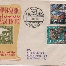 Sellos: SERIE COMPLETA DE ESPAÑA 1353 A 1364 EN TRES SOBRES PRIMER DÍA. Lote 194254480