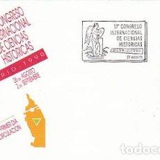 Sellos: EDIFIL 3075, CONGRESO INTERNACIONAL DE CIENCIAS HISTORICAS, PRIMER DIA DE 27-8-1990 SFC. Lote 194305023