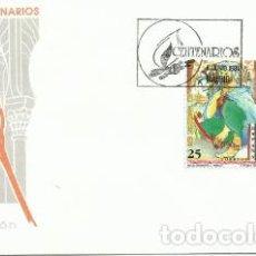 Sellos: PRIMER DÍA DE CIRCULACIÓN CENTENARIOS FRAY LUIS DE LEÓN Y ABD AL-RAHMAN III. 1991. Lote 194346067