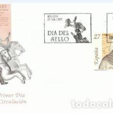 Sellos: SOBRE PRIMER DÍA –DIA DEL SELLO 1992 CONDE DE CAMPOMANES 1992. Lote 194348600