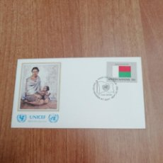 Sellos: SOBRE UNICEF OFFICIAL FIRST DAY COVER. Lote 194548467