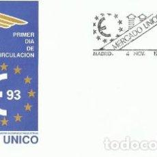 Sellos: SPD. SOBRE PRIMER DÍA MERCADO ÚNICO 93 LUIS VIVES SFC A.820. Lote 194585993