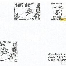 Sellos: ESPAÑA. SOBRE PRIMER DIA. BARCELONA 2017. Lote 194865116