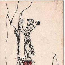 Sellos: RARÍSIMA POSTAL ENVIADA DESDE EL REFUGIO DE GORIZ (PIRINEOS DE HUESCA). Lote 195246600