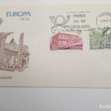 Sellos: ESPAÑA .EDIFIL 2474-2475 SPD EUROPA CEPT ARQUITECTURA. Lote 195336082