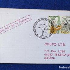 Sellos: SOBRE CON MATASELLOS. XXX EXPOSICION NACIONAL, PALOMA MENSAJERA. LLUCHMAJOR (BALEARES) 2000.. Lote 195346420