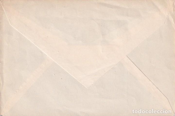 Sellos: LEGAZPI MIGUEL LOPEZ DE 1953 (EDIFIL 1124) EN SOBRE PRIMER DIA CIRCULADO. RARO ASI. OCASION. MPM. - Foto 2 - 195474646