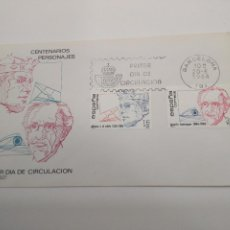 Sellos: ESPAÑA EDIFIL 2759-2760 SOBRE PRIMER DIA.S.F.C.-A.627 BARRAQUER MEDICO MATASELLOS BARCELONA. Lote 195544033