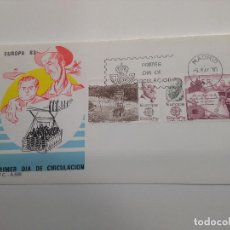 Sellos: ESPAÑA EDIFIL 2703-2704 SOBRE PRIMER DIA.TORRES QUEVEDO QUIJOTE NIAGARA . INGENIERO . Lote 195553511