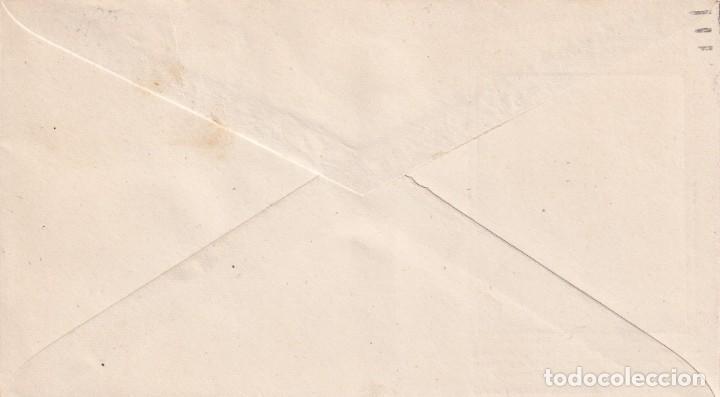 Sellos: DON QUIJOTE CERVANTES RUTA DEL QUIJOTE, CAMPO DE CRIPTANA CIUDAD REAL 1947. MATASELLOS SOBRE DP. MPM - Foto 2 - 195780436