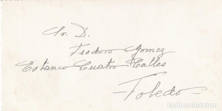 Sellos: DON QUIJOTE CERVANTES RUTA DEL QUIJOTE, CAMPO DE CRIPTANA (CIUDAD REAL) 1947. MATASELLOS TARJETA MPM - Foto 2 - 195780572