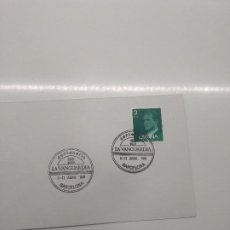 Sellos: MATASELLO CENTENARIO DE LA VANGUARDIA 1981 BARCELONA. Lote 195784645