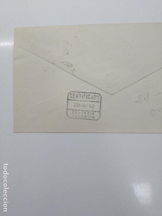 Sellos: congreso luso español de neurocirugia 1963 oviedo certificado carteria valencia llegada MEDICINA - Foto 2 - 196036701