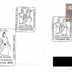 Timbres: ESPAÑA. MATASELLOS ESPECIAL. GIGANTES DE TORROELLA DE MONTGRI. 2019. Lote 196929558