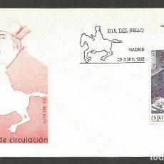 Francobolli: ESPAÑA SOBRE PRIMER DIA DE CIRCULACION 719 EDIFIL NUM. 2947. Lote 197619215