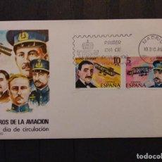 Sellos: 1980 PIONEROS DE LA AVIACIÓN. Lote 197854971