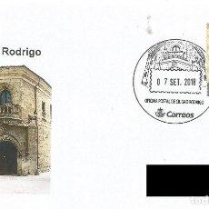 Sellos: ESPAÑA. MATASELLOS ESPECIAL. CIUDAD RODRIGO. 2018. Lote 198510071
